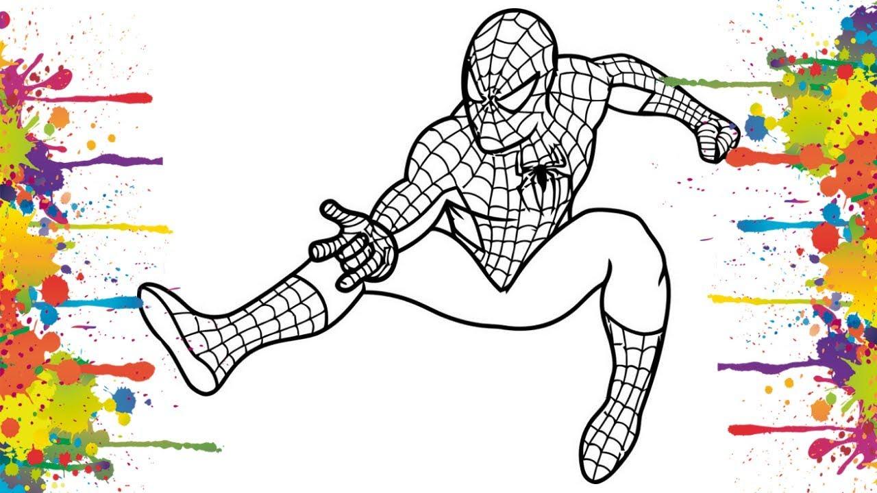 Homem Aranha Para Colorir Imprimir Muito Cil Colorir