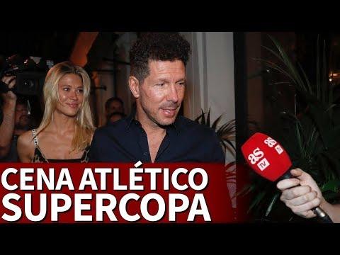 Celebración Atlético de Madrid: Cena del equipo en el restaurante Amazónico | Diario AS