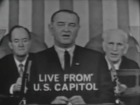 President Lyndon B. Johnson's Voting Rights Act Speech