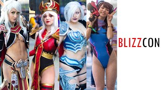 THIS IS BLIZZCON 2019 COMIC CON BEST COSPLAY MUSIC VIDEO BEST COSTUMES ANIME CMV OVERWATCH