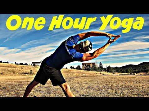 60 Min Complete Yoga Workout - Beginner To Advanced Power Yoga Class W/ Sean Vigue #poweryoga
