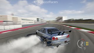 Forza Motorsport 6 Paul Walker's Nissan Skyline GTR R34 Gameplay
