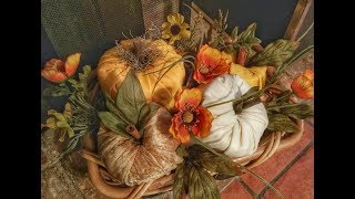 DIY pumpkins- easy and kid friendly!