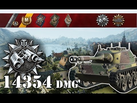 World of Tanks / How to Spot on Lakeville