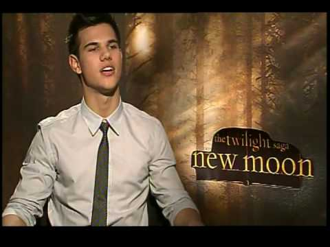 Taylor Lautner interview for New Moon The Twilight Saga