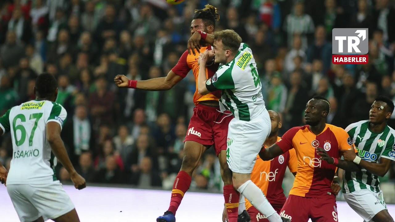 Aslan'dan muhteşem geri dönüş! Bursaspor Galatasaray maç özeti ve golleri izle