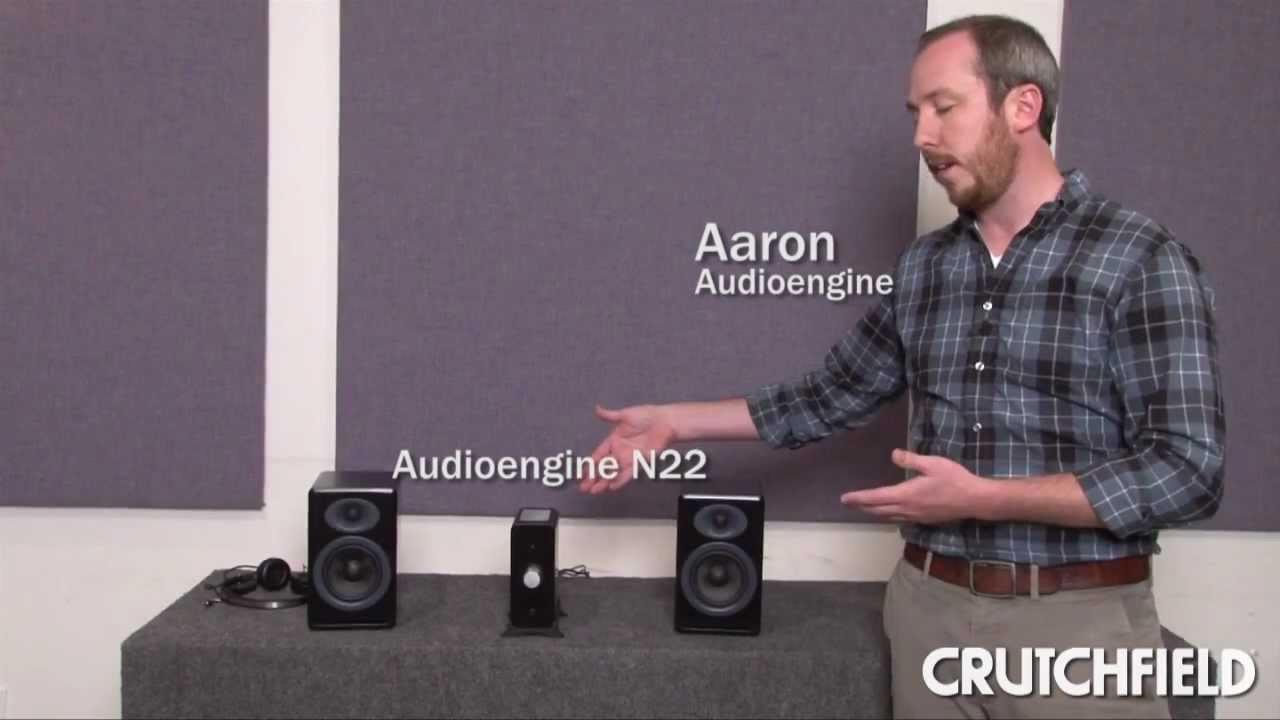 Audioengine N22 Desktop Amp And P4 Bookshelf Speakers