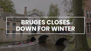 Bruges closes down for winter | #secretsofbruges thumbnail