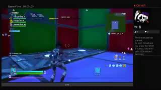 How to make abox fight in Fortnite with barriers
