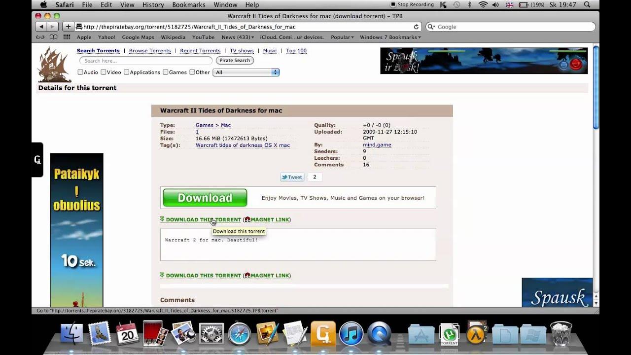 warcraft 2 download deutsch mac