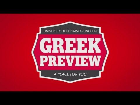 UNL Greek Preview