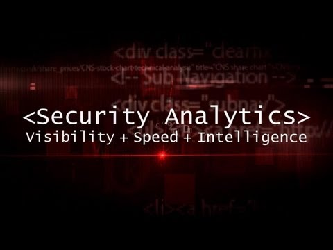 Mission Critical Security Technology Showcase: RSA Security Analytics