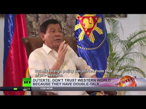 Duterte: West is just double talk, I want more ties with Russia & China'