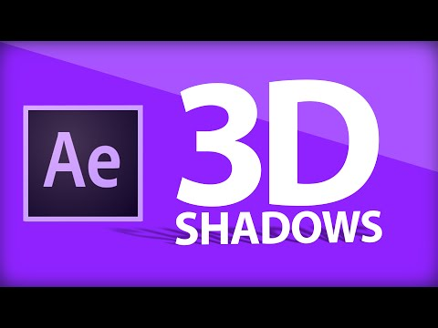 After Effects Tutorial | 3D Shadows