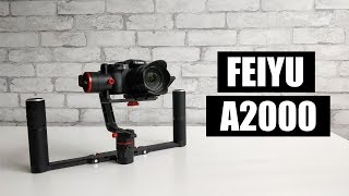 Feiyu A2000 Camera Gimbal (Dual Handle Kit) Review - The Good and the Bad.