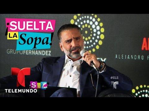 Suelta La Sopa   Alejandro Fernández se disculpa luego de fotos sin camisa   Entretenimiento