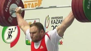 2011 European Weightlifting Championships, Men +105 kg \ Тяжелая Атлетика. Чемпионат Европы