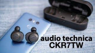 Trên tay tai nghe True Wireless Audio Technica ATH-CKR7TW