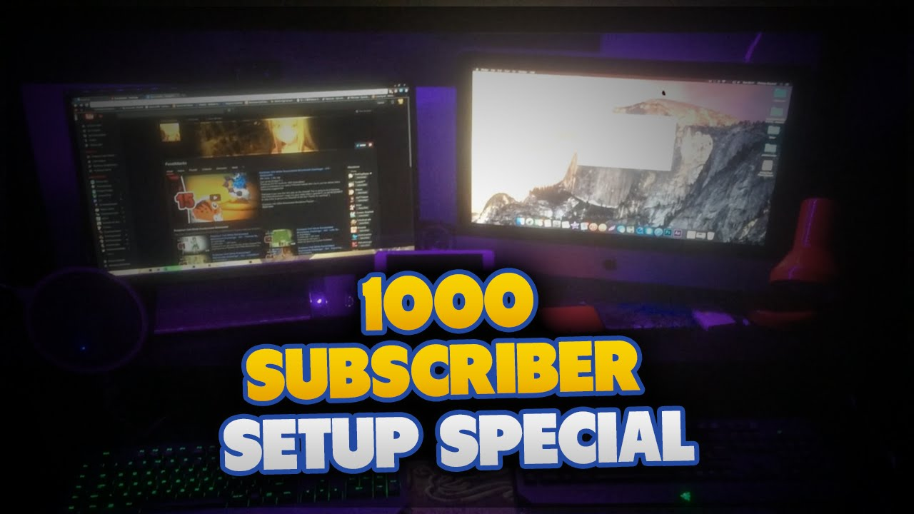 1000 subscribers special thank you all 4of4 7