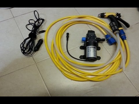 car wash pump 12V 80W