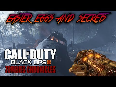 NACHT DER UNTOTEN - ALL EASTER EGGS AND SECRETS WALKTHROUGH (Black Ops 3 Zombies Chronicles)