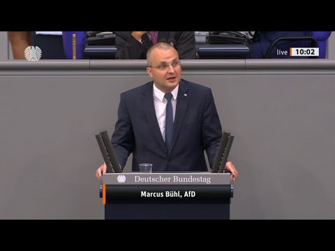 """Bundestag. """"Die Asylrücklage bleibt aber unangetastet."""" Marcus Bühl, AfD 02.07.2020"""