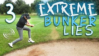 How To Play 3 EXTREME Bunker Shots | ME AND MY GOLF