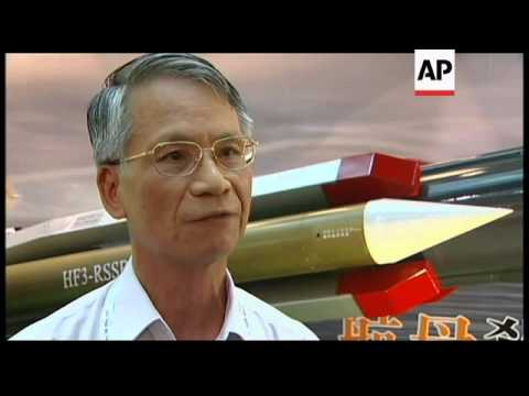 Taiwan unveils new missile in response to China''s carrier trials