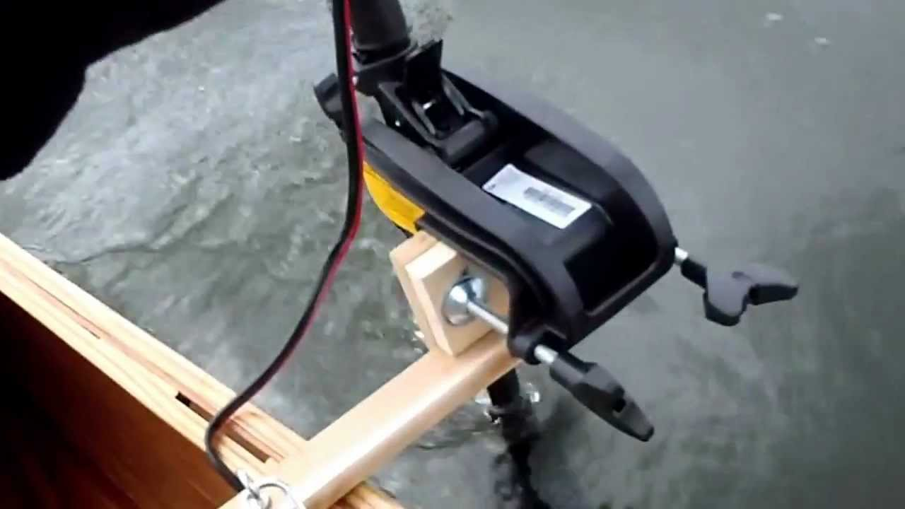 Minnkota Endura C2 trolling motor pushing a 17 5 BWCA Cruiser Canoe