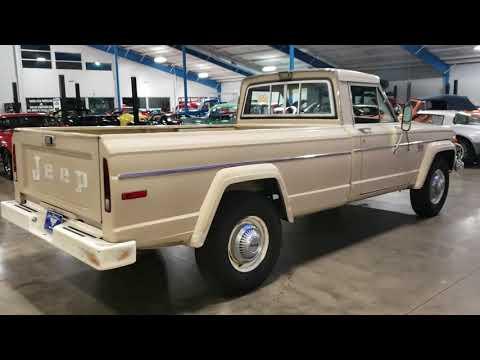 1975 Jeep J20 pickup truck