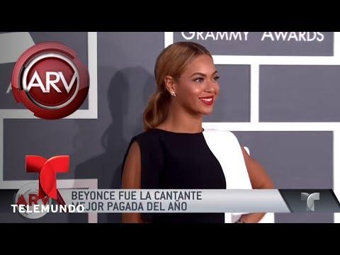 Beyoncé fue la cantante mejor pagada en el 2017   Al Rojo Vivo   Telemundo