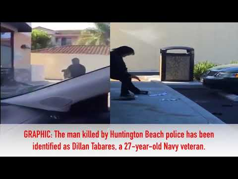 GRAPHIC: New video surfaces of Huntington Beach police shooting death