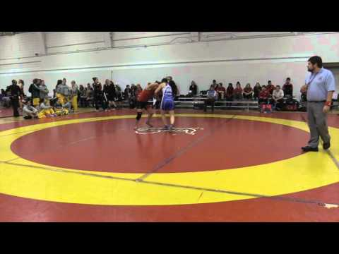 2015 Dino Invitational: 55 kg Josee Tremblay vs. Vanessa Brown