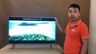 Đập hộp chiếc Smart tivi QLED Samsung QA43Q65R - Hướng dẫn cài đặt, lắp đặt