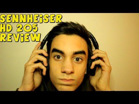 SENNHEISER HD 205 REVIEW!