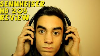 SENNHEISER HD 205 REVIEW!