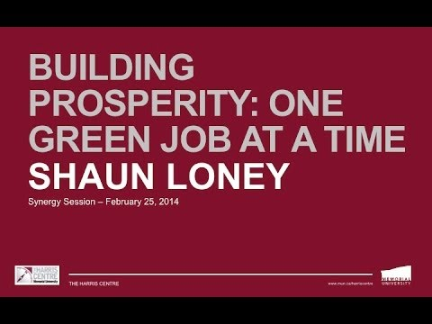 "Synergy Session: ""BUILDing Prosperity -- One green job at a time"""