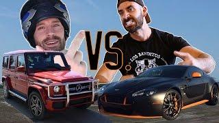 Aston Martin vs. Bradley Martyn AMG G63 | GNARPM EP.10