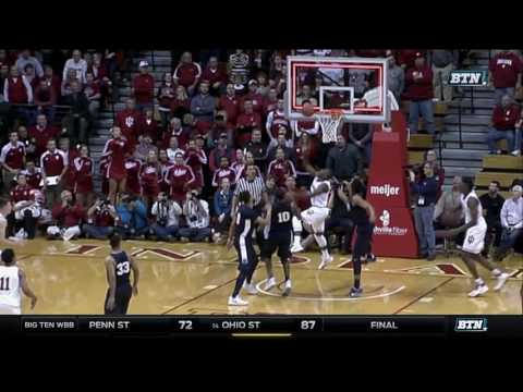 Penn State at Indiana - Men's Basketball Highlights