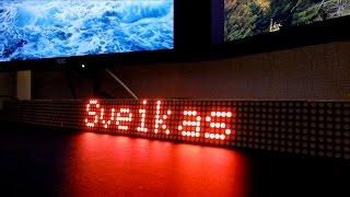 LED-информер для умного дома #1