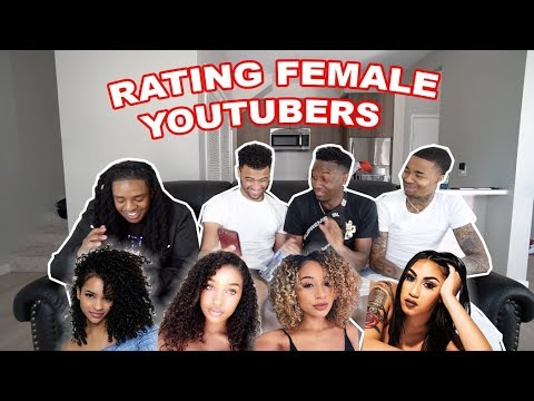 RATING FEMALE YOUTUBERS FROM 1-10!! Ft. Queen Naija, Corie Rayvon & MORE! | The Aqua Family