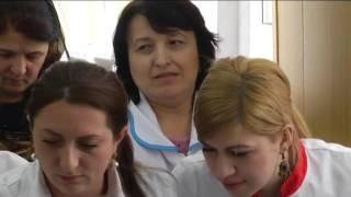Сергокала Дагестан День мед сестры2017 в зале адмнистрации