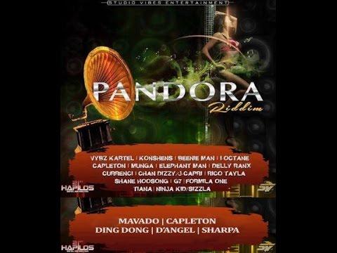 PANDORA RIDDIM MIX FT. VYBZ KARTEL, MAVADO, ELEPHANT MAN, LNJ & MORE {DJ SUPARIFIC}