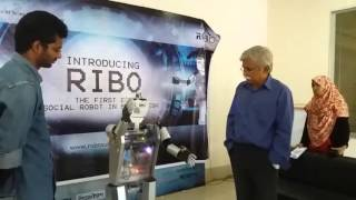 ribo the first ever social robot made in bangladesh