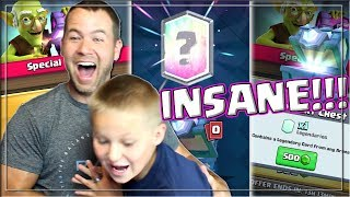 INSANE Legendary Chest Opening - Push to Challenger III |Clash Royale|