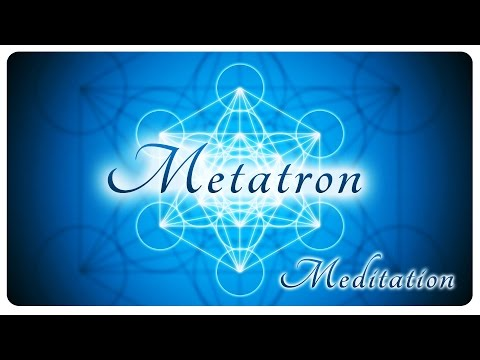 Metatron's cube powerful meditation with high quality meditative music