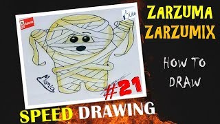 SPEED DRAWING HOW TO DRAW A MOMMY EASY AND FAST # 20