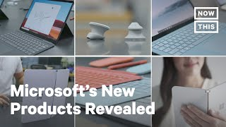 Microsoft Revealed 6 New Products Including a Dual-Screen Phone and Wireless Earbuds