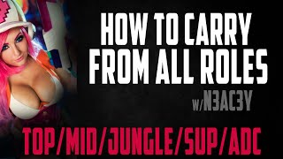 How to Carry from ALL ROLES