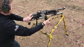 M1909 Hotchkiss 50rnd Belt Test